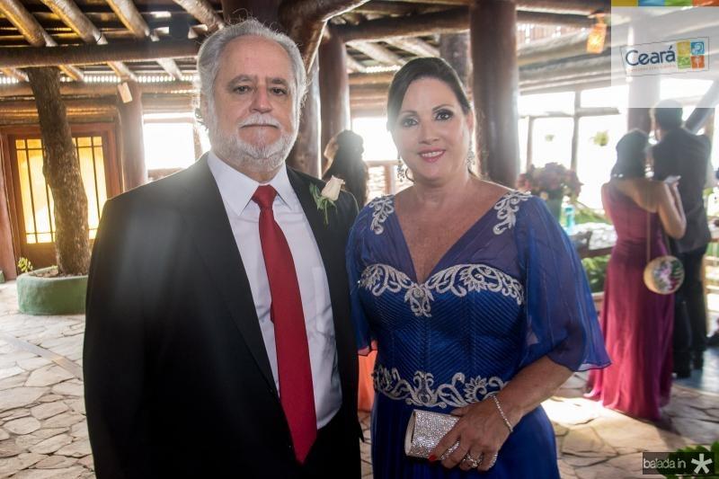Alfredo e Jaqueline Turbay