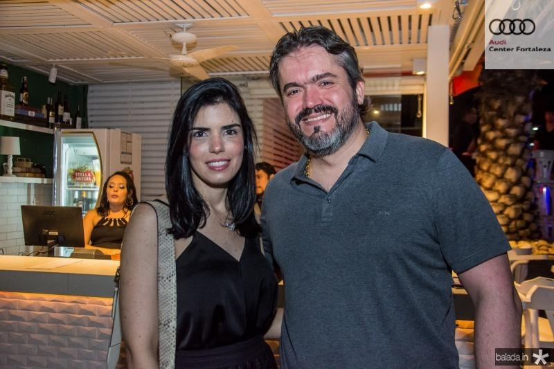 Ticiana e Rodrigo Sousa