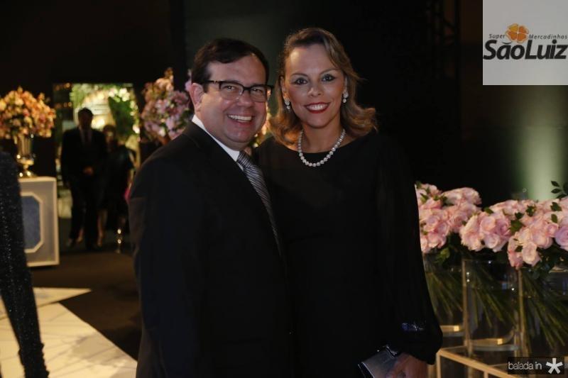 Rafael Bezerra e Luciana Becker
