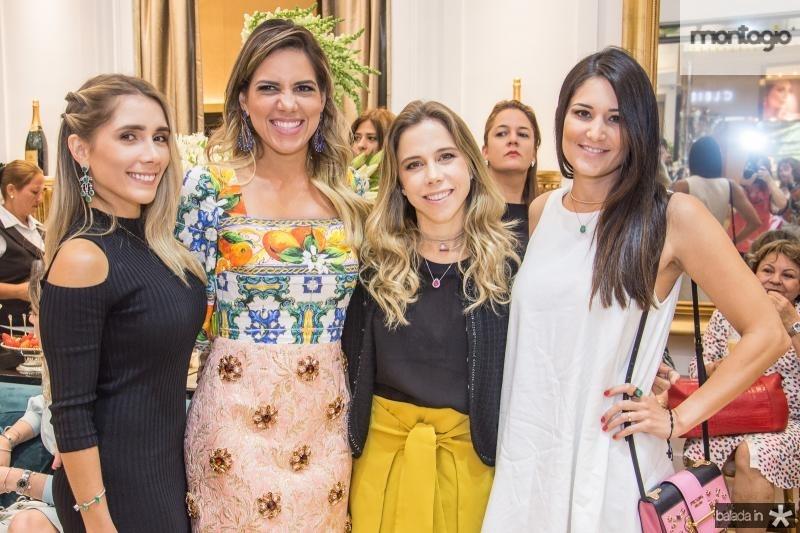 Nicole Benevides, Ana Carolina Fontenele, Mirella Rocha e Aline Pinho