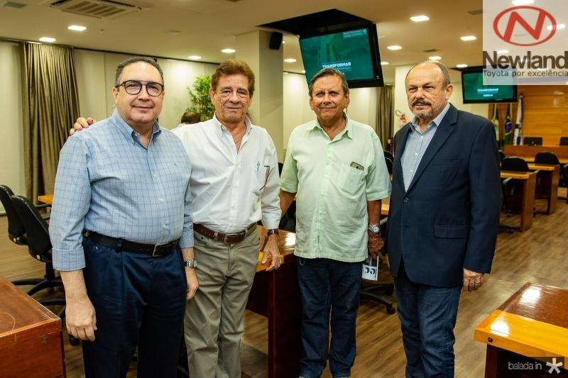 Luis Eduardo Morais, Elias Carlos, Bil Farias, Honorio Pinheiro