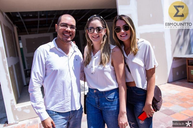 Josafa Neto, Zaira Mendes e Juliana Hissa