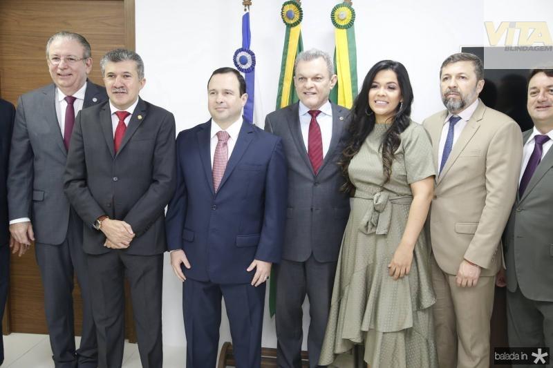 Ricardo Cavalcante, Antonio Henrique, Igor Barroso, Sarto, Priscila Costa, Elcio Batista e Benigno Jr
