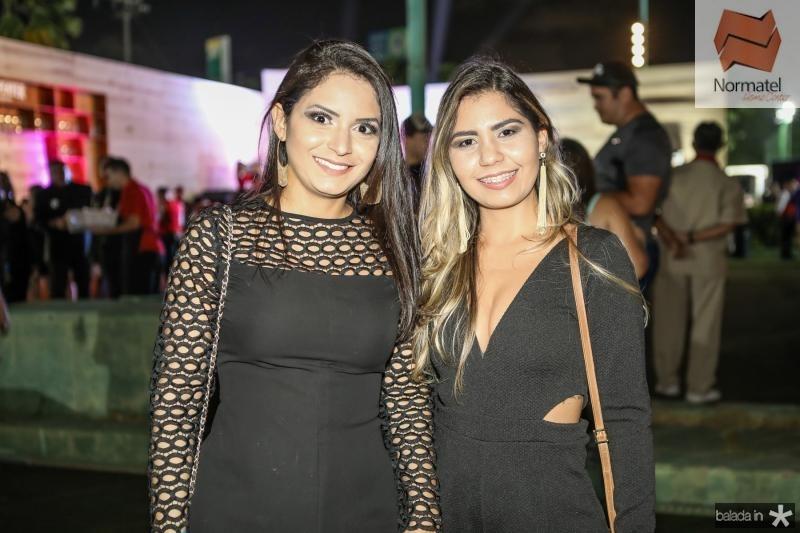 Mariana Braga e Jessica Araujo