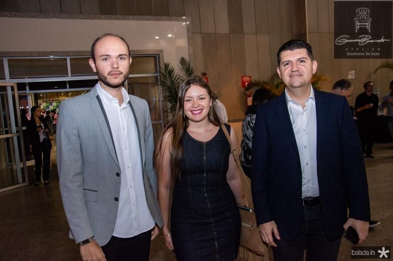 Italo Santos, Samia Maia e Ronaldo Martins