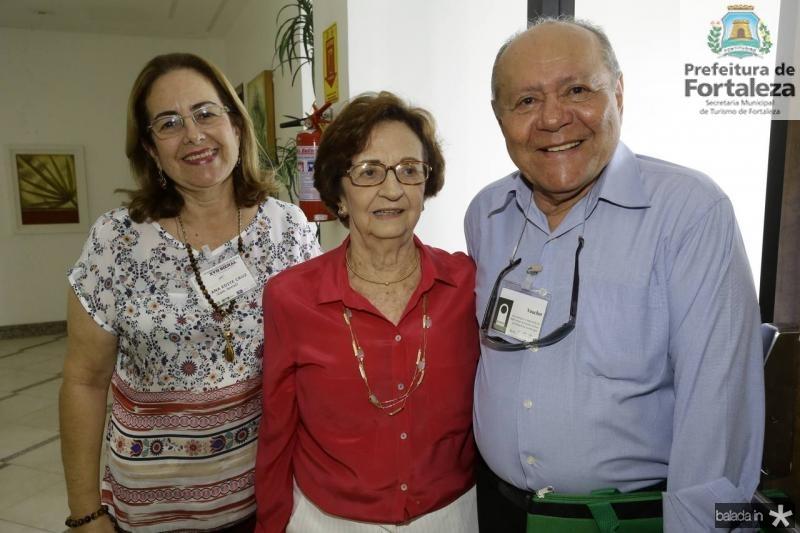 Ana Edite, Zilmar Fontenele e Ormando Campos