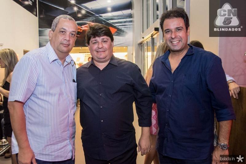 Marcelo Vieira, George Lima e Fabio Campos
