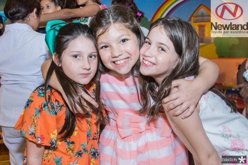 Maria Marcan, Maria Luiza Araujo e Laura Mirian