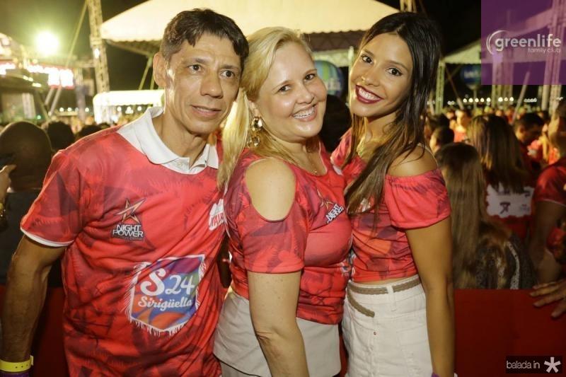 Rafael, Conceicao e Juliana Abrantes