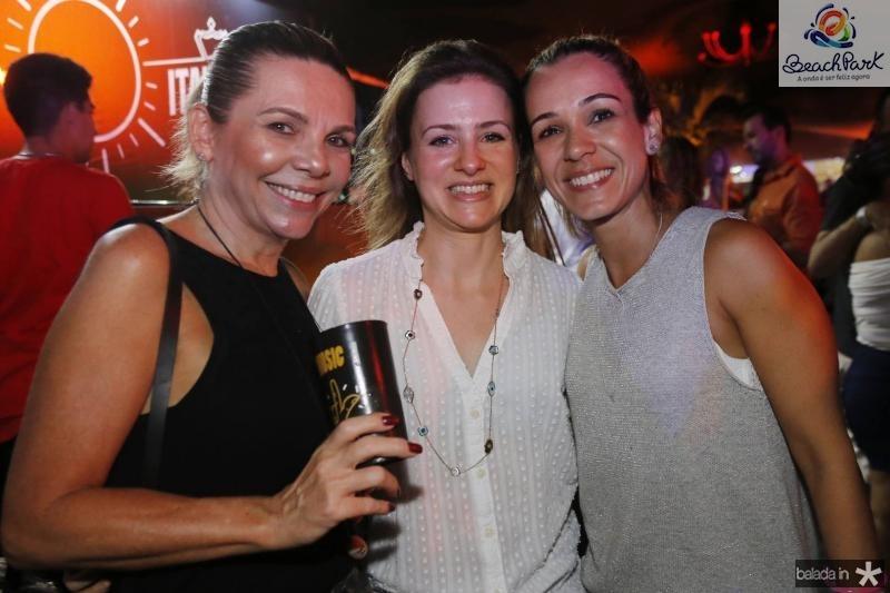 Lilian Porto, Natalia Macedo e Carol Porto