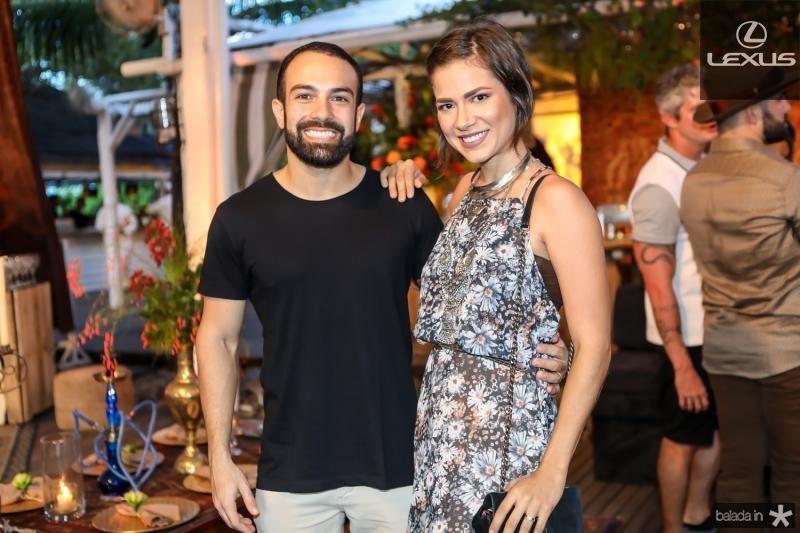 Victor Cavalcante e Zeli Ramos
