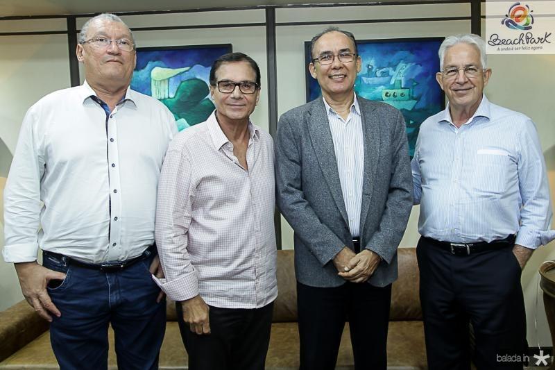 Lucio Farias, Beto Studart, Francisco Teixeira e Carlos Prado