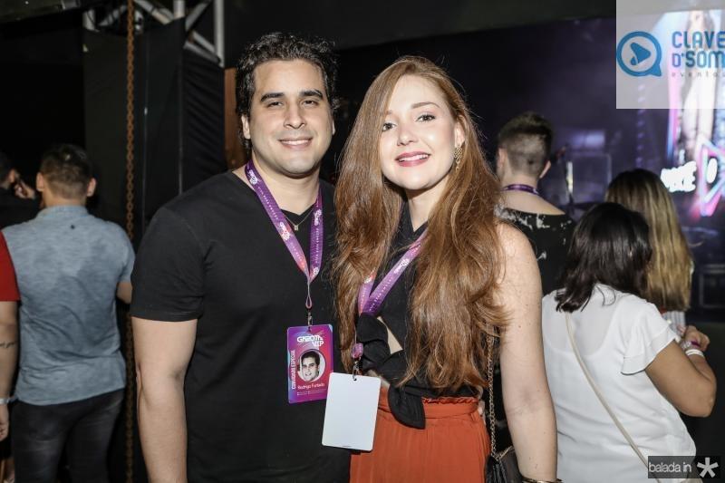 Rodrigo e Larissa Furtado