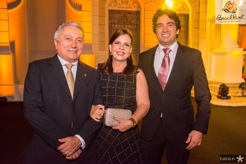 Euvaldo Bringel, Eliane Brasilo e Daniel Borges
