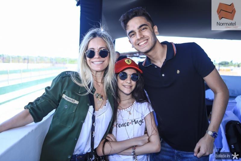 Vladia e Nina Brandao, Giordano Fernandes