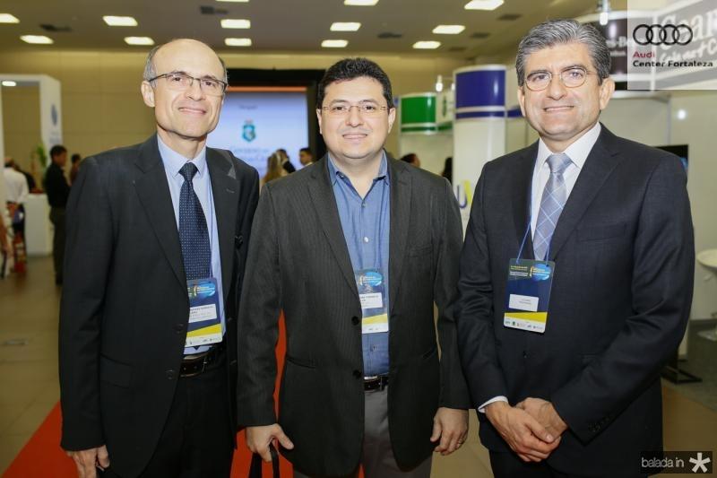 Paulo Alcantra, José Alexssandre e Luis Mario Vieira