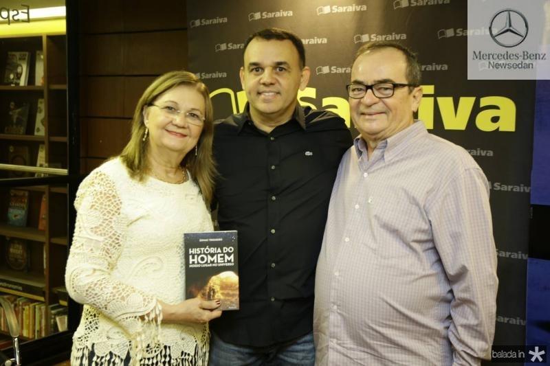 Josire Lima, Edmac Trigueiro e Vicente Lima