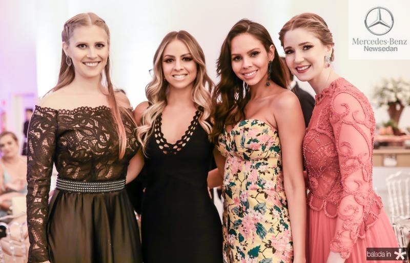 Natalia Carvalho, Ligia Bucao, Camila Lima e Livia Nogueira