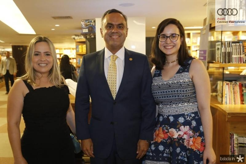 Marcela Pinheiro, Marcelo Mota e Beatriz Lima