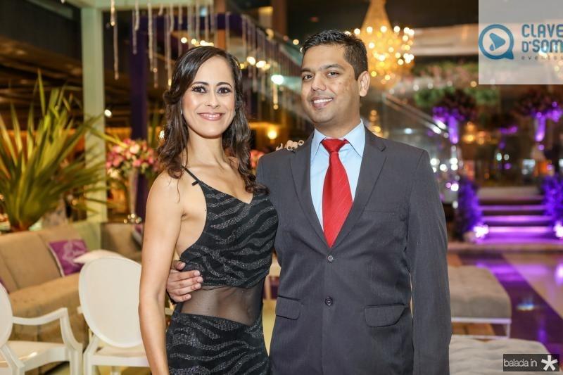 Tassiana Lima e Vitor Jaco