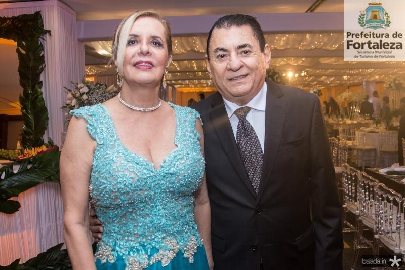 Mikaela Meireles e Francisco Meireles