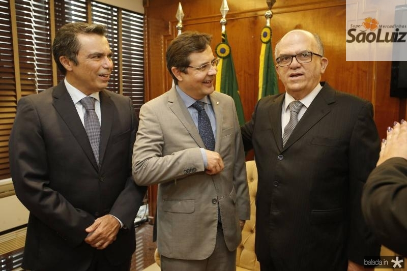 Juvencio Viana, Edilberto Pontes e Fernando Ximenes