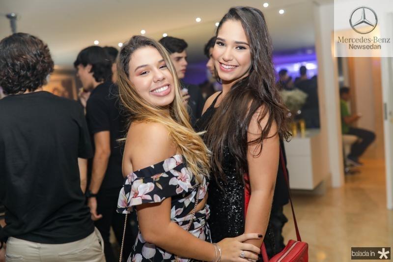 Eduarda Gadelha e Luiza Carvalho