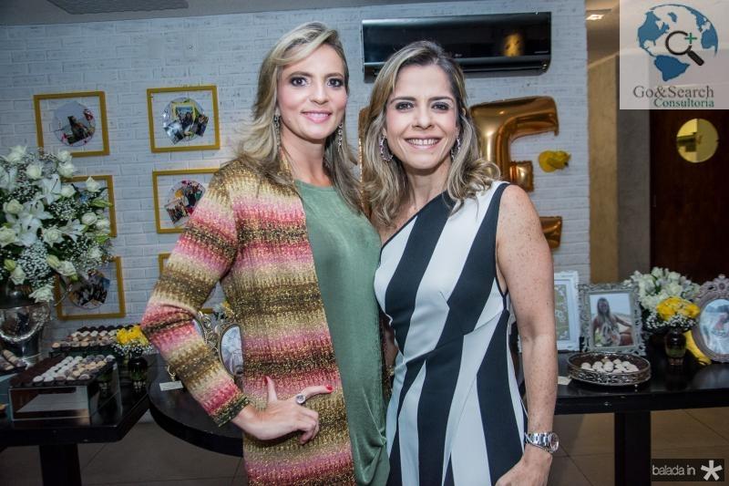 Michele Aragao e Carla Nogueira
