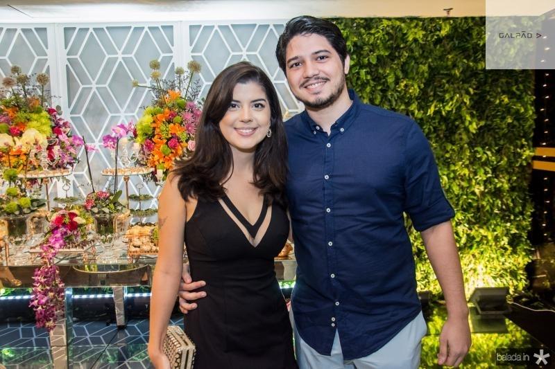 Adriane Abreu e Joao Lucas