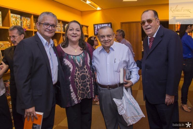 Luis Sergio Santos, Siglinda Barroso, Marcos Monte e Regis Barroso
