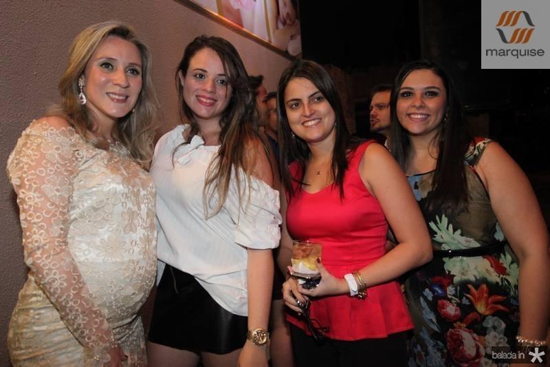Olga Saraiva, Mayara Bezerra, Caroline Fonteles e Ticiane Bezerra