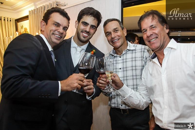Fred Pinto, Lucas Ximenes, Jose Filho e Artur Magalhaes