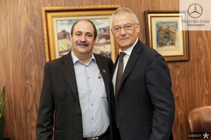 Paulo Andre Holanda e Roberto Zanchi