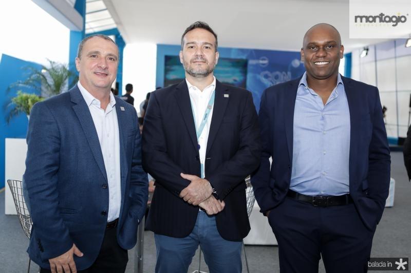 Jorge Vieira, Andre Martins e Cleiton Carmo