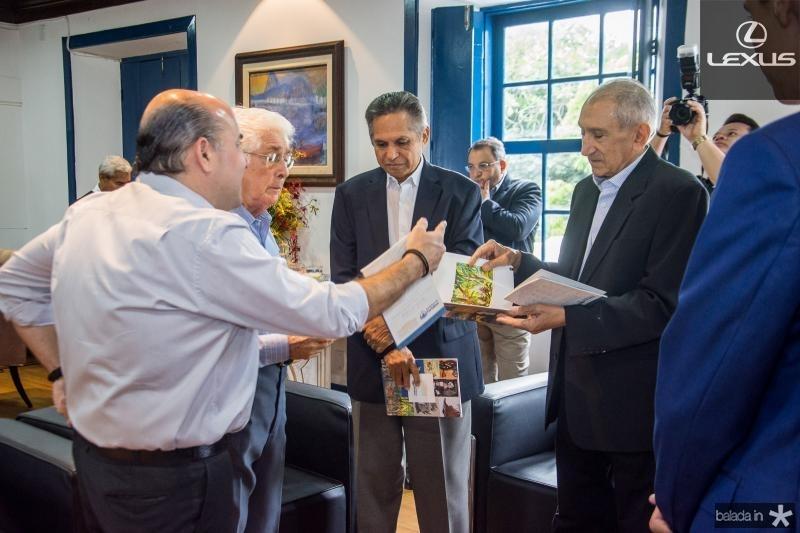 Roberto Claudio, Jose Liberal de Castro, Antonio Cambraia e Vicente Fialho