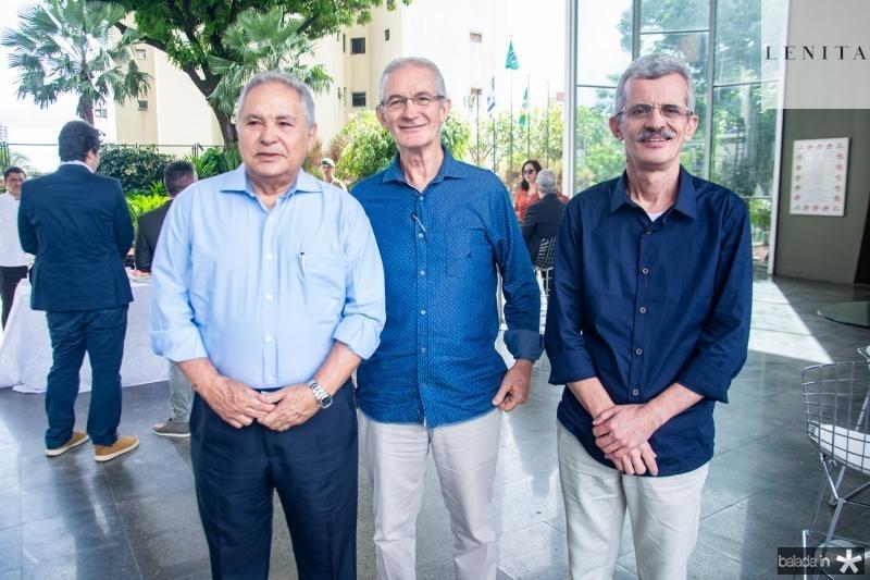 Roberto Otto, Dinalvo Diniz e Angelo Guerra