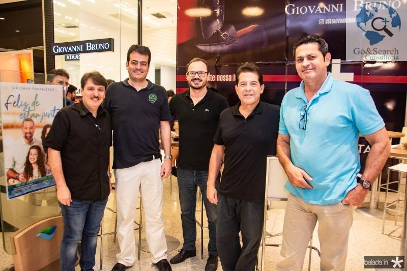 Raimundo Feitosa, Delano Sobreira, Alvaro Guimaraes, Deib Otoch e Murilo Andrade