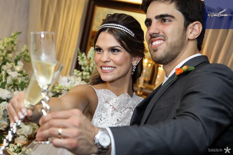 Mariana Pinto e Lucas Ximenes