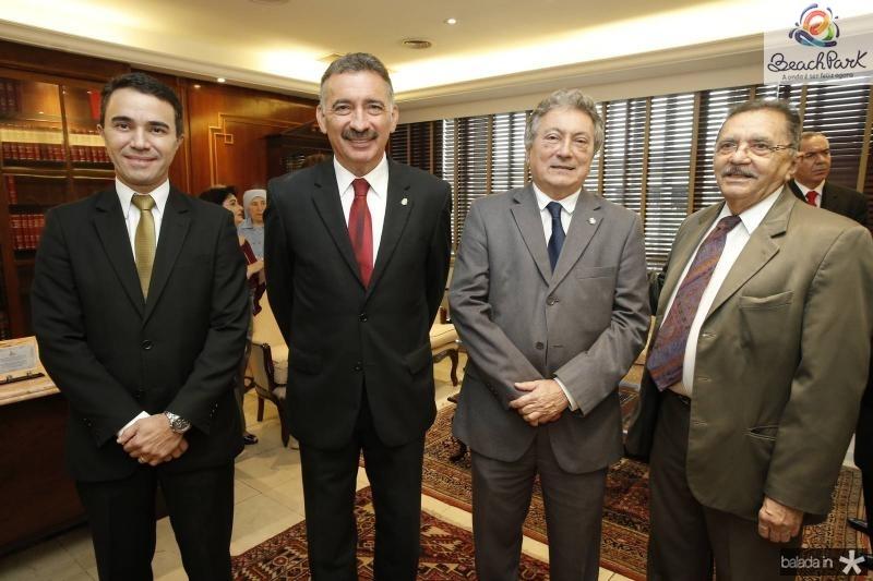 Placido Rios, Artur Bruno, Euvaldo Bringel e Nirez