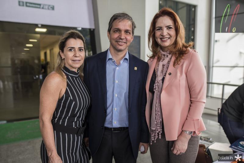 Monica Luz, Romulo Soares e Enid Camara