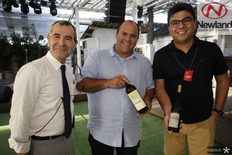 Jorge Bita, Luiz Diogo e Rolf Campos