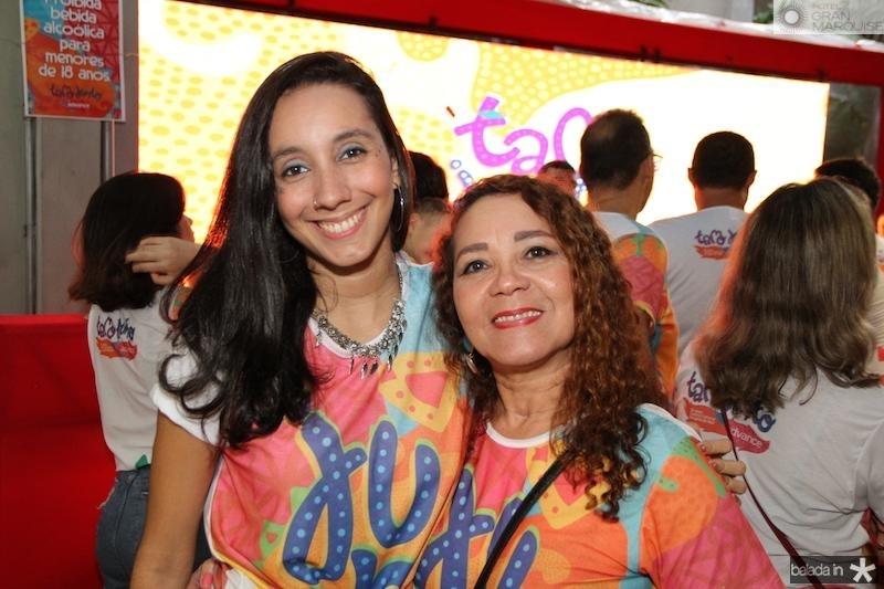 Andressa Lima e Edna Menezes