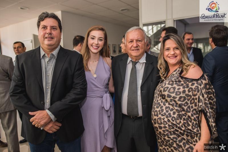 Paulo Marcelo, Nicole, Jose Alberto e Danielle Franco