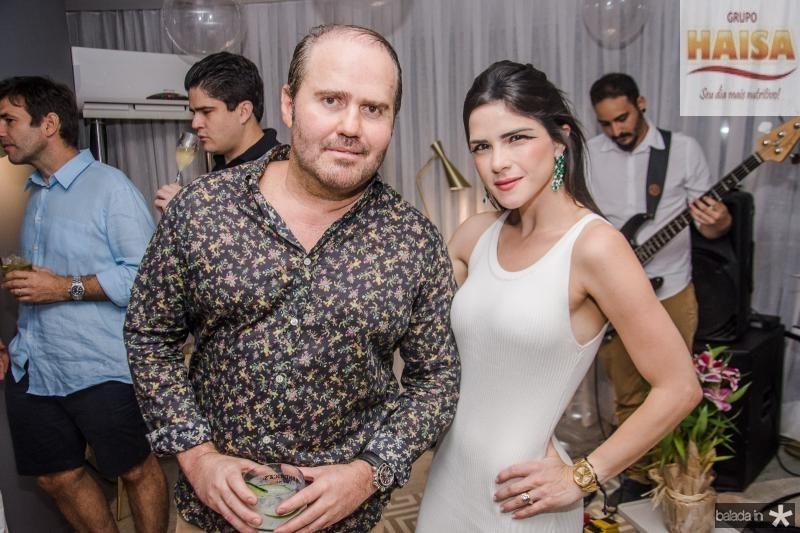 Roberto Pamplona e Marilia Quintao Vasconcelos