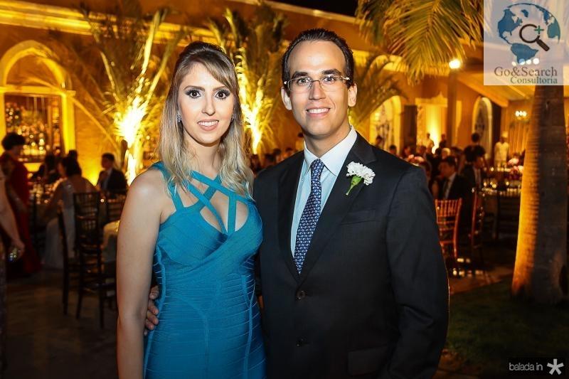 Paola Zanotelle e Igor Lucena