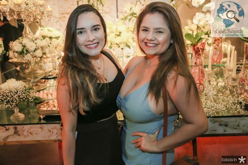 Maria Clara Portugal e Cristiane Bezerra