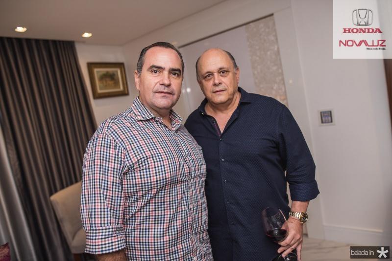 Aluisio Cavalcante e Philomeno Junior