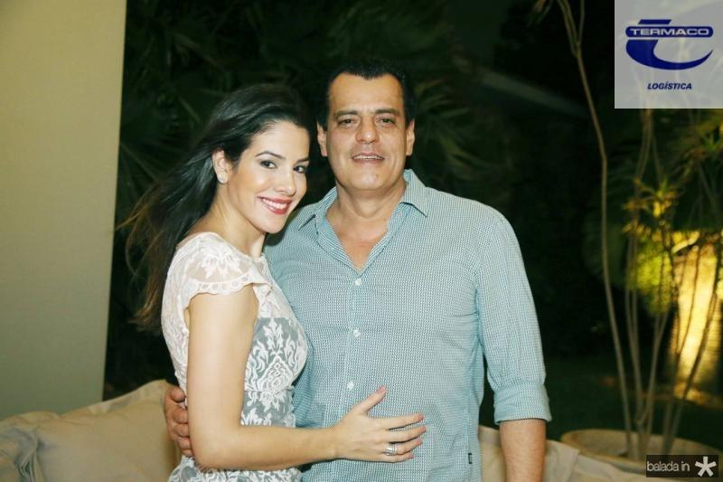 Carla Brasil e Magno Nogueira Lima