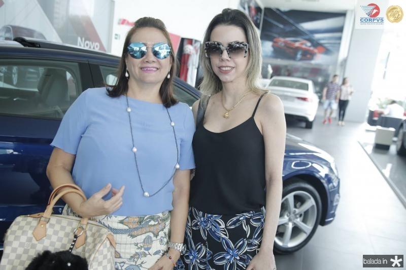 Cristina Albuquerque e Caroline Fernandes