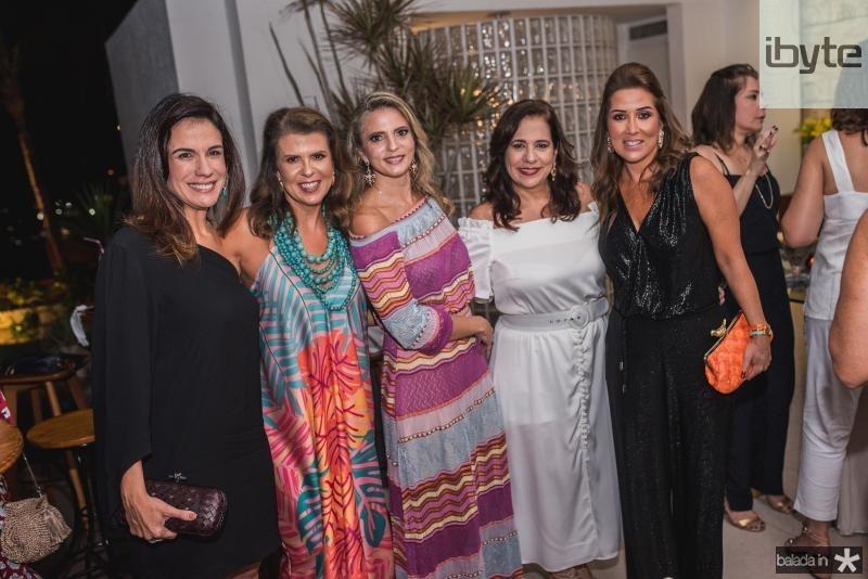 Ana Virginia Martinha, Alexandra Pinto, Michele Aragao, Martinha Assuncao e Ana Vladia Barreira
